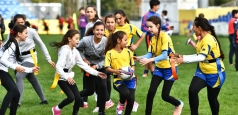 Șase sute de copii au participat la Festivalul de Rugby Tag