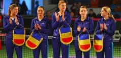 Fed Cup: Meciul România - Belgia se joacă la București