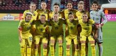 Fotba feminin: Lotul României pentru barajul cu Portugalia