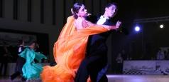 Dansatorii sportivi se întrec în trei competiții naționale