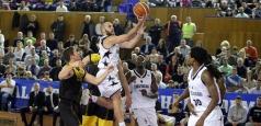 FIBA Europe Cup: Clujenii sunt lideri, Steaua suferă o nouă înfrângere