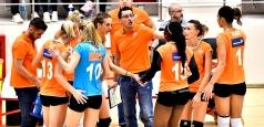 Înfrângeri pe linie în CEV Volleyball Cup
