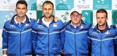 Cupa Davis: Echipa României pentru meciul cu Belarus