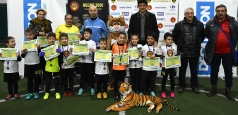 Cupa Young Tigers, mini-fotbaliști cu maxi-devotament