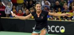 Fed Cup:  Monica Niculescu - Kirsten Flipkens, primul meci al zilei de sâmbătă