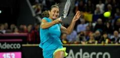 Fed Cup:  Monica Niculescu a cedat în primul meci al partidei cu Belgia