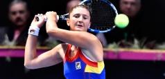 WTA Dubai: Begu, victorioasă numai la dublu