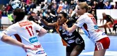 EHF Champions League: CSM București a pierdut deplasarea de la Larvik
