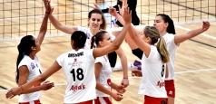 DA1F: Victorie scurtă la Blaj, cîte cinci seturi la Lugoj și Craiova