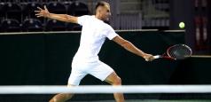 ATP Sophia Antipolis: Copil, eliminat în primul tur în ambele probe