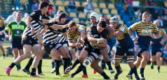 SuperLiga CEC Bank: Timișoara Saracens - U Cluj 60-21