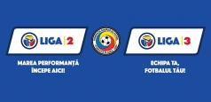 FRF a lansat noile branduri Liga 2 și Liga 3