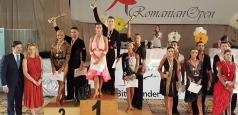 Dansatorii sportivi români din nou pe podium