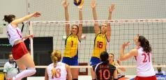 Înfrângere la Sofia pentru voleibaliste