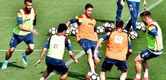 Naționala se pregătește intens pentru meciul contra Poloniei