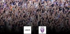 UBER susține echipa de fotbal Politehnica Timișoara în noul sezon