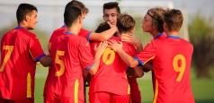 U16: România învinge Irlanda cu 3-1 într-un meci amical