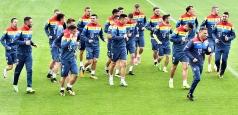 Tricolorii au susținut antrenamentul oficial înaintea partidei cu Kazahstan