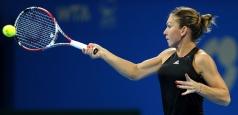 Turneul Campioanelor: Simona Halep a debutat cu o victorie