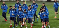 Tricolorii s-au antrenat la Cluj-Napoca înaintea duelului cu Turcia