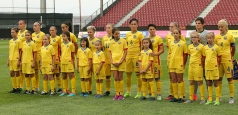 Lotul naționalei feminine pentru partida cu Moldova