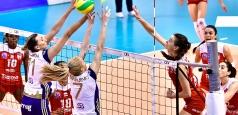 Liga Campionilor: CSM Volei Alba Blaj - Volero Zurich 3-1