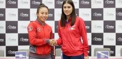 Fed Cup: Sorana Cîrstea – Carol Zhao, primul meci al întâlnirii România – Canada