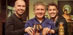 """Holsten lansează """"Frăția Berii"""" împreună cu Gheorghe Hagi și FC Viitorul"""