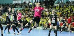 Cupa EHF: O victorie și o înfrângere în sferturile de finală