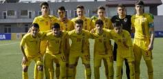 Tricolorii U16 vor participa la Turneul celor 4 Națiuni
