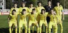România U16 a pierdut partida cu Cehia