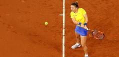 WTA Roma: Halep trece în sferturi fără luptă. Cîrstea, succes la dublu