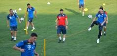 Naționala continuă antrenamentele la Mogoșoaia