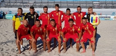 Fotbal pe plajă: România joacă finala pentru promovare în Divizia A și merge la Jocurile Europene din 2019