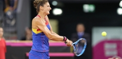 WTA: Victorie printre picături