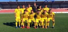 Victorie cu 3-1 pentru naționala U18 într-un meci amical cu Muntenegru