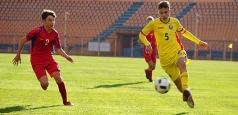 România U15 a învins Moldova cu 6-2 la debutul internațional