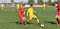 Dublă victorie pentru naționala U16 cu Macedonia