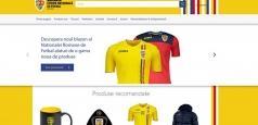 S-a lansat noul magazin online al suporterilor naționalei