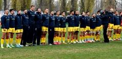 Primul XV al României pentru meciul cu Uruguay