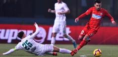 Liga 1: Pas greșit pentru FCSB la Chiajna