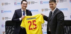 Romstal se alătură FRF și devine sponsor al Echipei Naționale de Fotbal a României