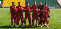 Tricolorii U19 au pierdut primul meci la Turul de Elită