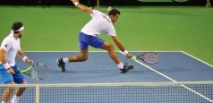 Cupa Davis: Trei victorii pentru români în ziua a doua
