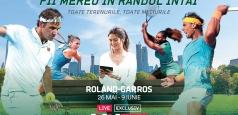 Din 26 mai, Eurosport dă startul Roland-Garros și pune la bătaie o experiență completă la finala feminină a turneului de la Paris