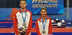 JE Minsk 2019: Bernadette Szocs și Ovidiu Ionescu, medaliați cu argint la dublu mixt