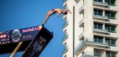 Cătălin Preda a obținut încă un podium în Seria Mondială Red Bull Cliff Diving