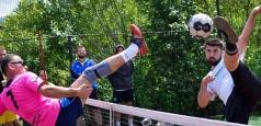 Dumbrăvița Timiș va găzdui etapa a patra a Campionatului României la tenis cu piciorul