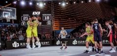 Victorie istorică la baschet 3x3: România a învins SUA