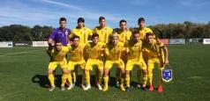 Tricolorii U19 au încheiat grupa de calificare cu o remiză și două înfrângeri